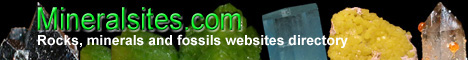 Rocks, minerals and fossils websites directory
