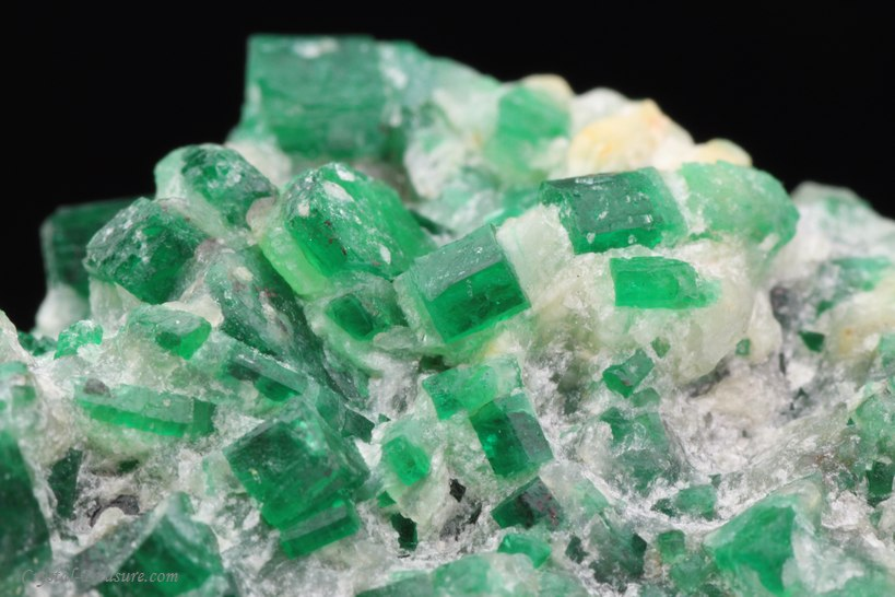 Emerald Crystals In Matrix Afghanistan Crystal Treasure Com