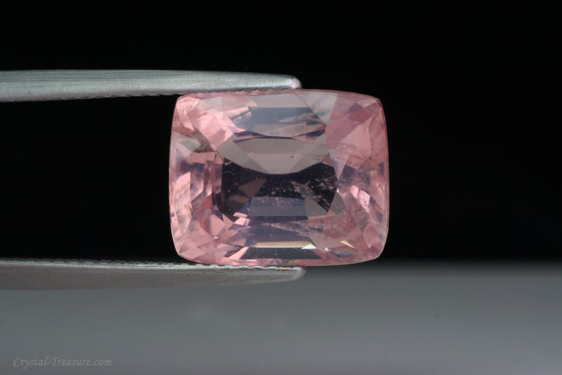 Fine Faceted Pink Scapolite Crystal Treasure Com