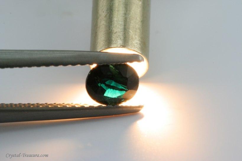 Fine Cut Dark Blue Serendibite Crystal Treasure Com